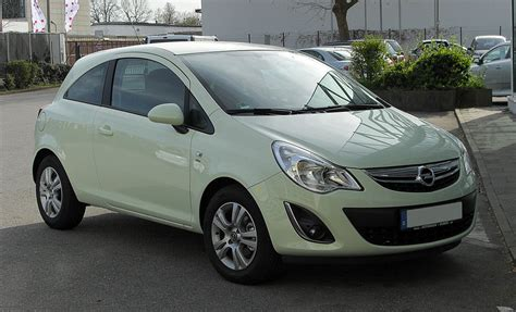 Opel Corsa — Википедия