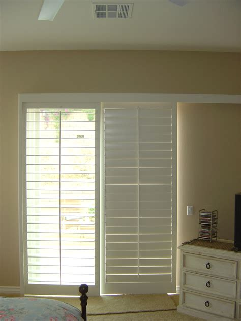 Best Window Treatments For Sliding Glass Doors #10013