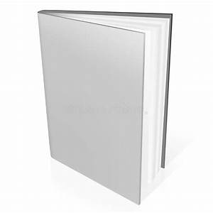 3d book with blank covers stock illustration. Illustration ...