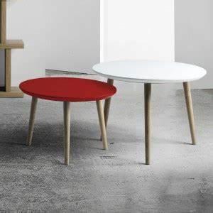 Table Basse Scandinave Ronde : table basse ronde style scandinave brin d 39 ouest ~ Teatrodelosmanantiales.com Idées de Décoration