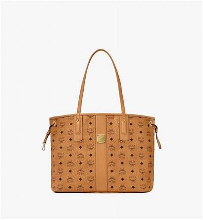 Liz Shopper Visetos Reversible Mcm Wendeshopper Bags