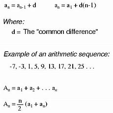 Sequences  Algebra Reference  Electronics Textbook