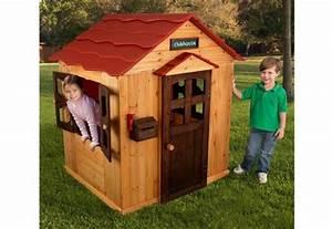 Maison Bois Pour Enfant : maison de jardin en bois pour enfant cabane de jardin ~ Premium-room.com Idées de Décoration