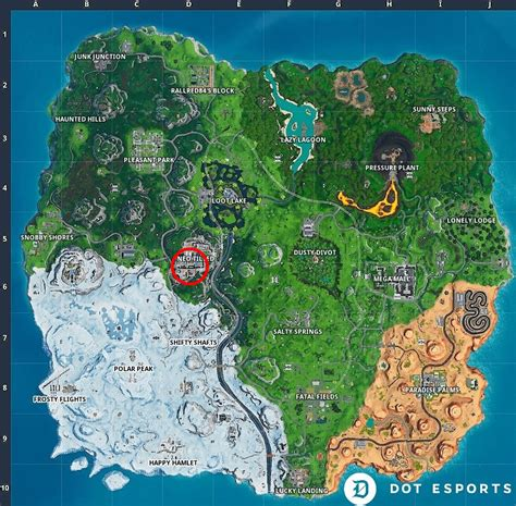 Fortnite: Fortbyte 76 Location - Found behind a Historical ...