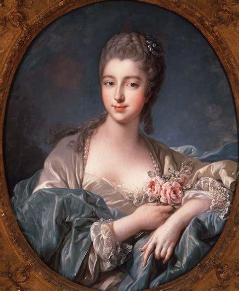 portrait of marquise de pompadour portrait of a