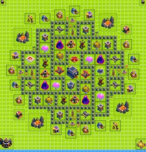 Level 9 Town Hall Base War