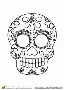 Tete De Mort Mexicaine Dessin : une t te de mort en sucre mexicain sertie de p tales de ~ Melissatoandfro.com Idées de Décoration