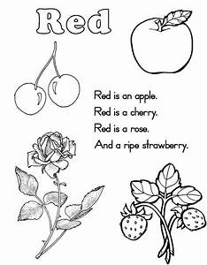Printable Red Coloring Pages. Printable. Best Free ...