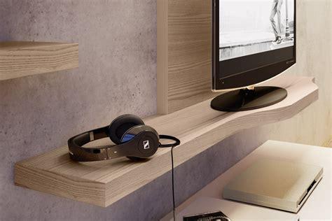Mensole Sotto Tv by Mensole Per Soggiorno Moderno Parete Attrezzata Moderna