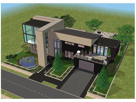 Minecraft Small Modern House Blueprints Planning