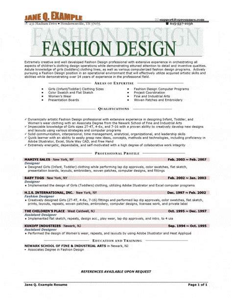 Assistant Fashion Designer Resumeassistant Fashion Designer Resume by Fashion Designer Resume