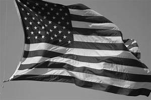 Black and White American Flag Wallpaper HD Wallpaper ...