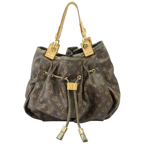 louis vuitton limited edition brown irene shoulder bag  ghw  stdibs