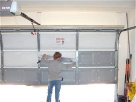 how to fix garage door panel how to replace a garage door panel