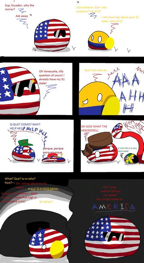 Countryball Memes - the 51 state polandball s countryballs polandball countryball memes