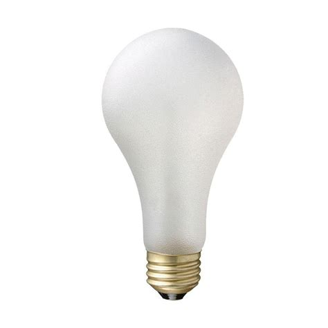 philips 75 watt incandescent a21 tuff bulb light bulb 8