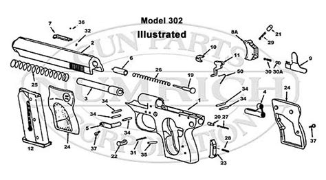 find sterling arms 302 parts for sale numrich