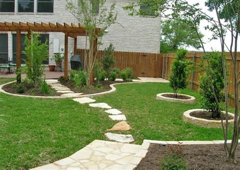 backyard landscaping austin tx photo gallery