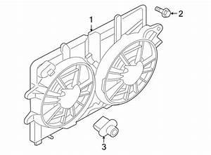 Ford Escape Engine Cooling Fan Shroud Bolt  2 5 Liter