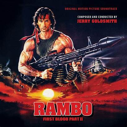 Rambo Blood Soundtrack Ii Motion Kinetophone Goldsmith