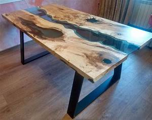 sold live edge river table quotblue valleyquot with blue epoxy With epoxy resin coffee table