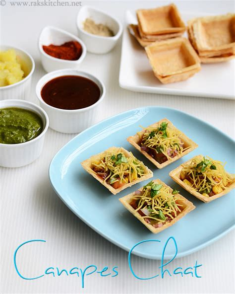 canape filling ideas canapes chaat canape chaat recipe raks kitchen