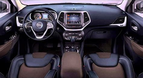 jeep cherokee 2018 interior 2018 jeep grand cherokee review changes price release