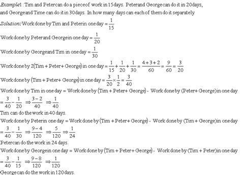 problems on time and work iii grade 8 mathematics
