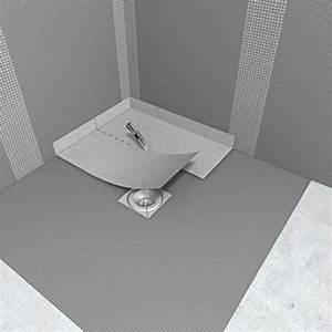 Plaque Etanche Douche : receveur de douche coulement horizontal int gr fundo ~ Zukunftsfamilie.com Idées de Décoration