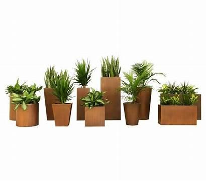 Indoor Commercial Outdoor Planter Column Residential Customizable