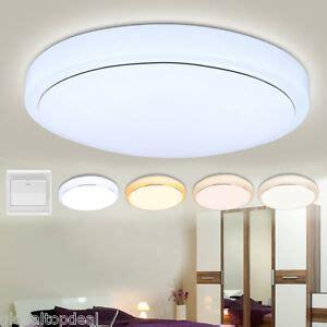 led ceiling light flush mount fixture lamp dimmable bedroom kitchen lighting ebay