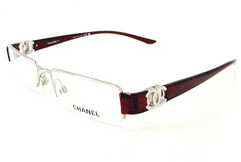 chanel  silver  optical frame eyeglasses