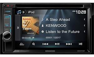 Kenwood Ddx374bt Dvd Receiver At Crutchfield
