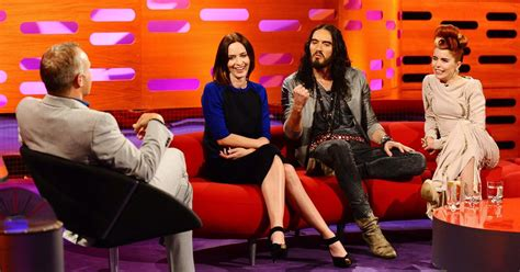 russell brand on graham norton russell brand furious at graham norton questions over katy