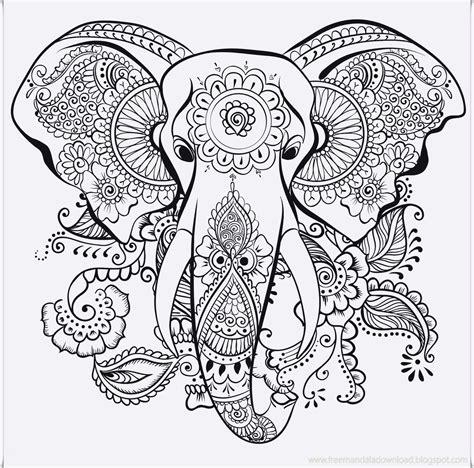 mandala malen für erwachsene elefant ausmalbild erwachsene diy projects