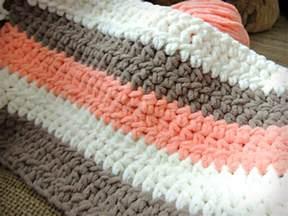 Chunky Baby Blanket Crochet Pattern