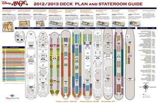 visited magic deck plan disney cruise disney world deck plans and cruises