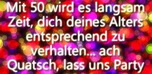 Geburtstagsbilder Zum 50 : gl ckw nsche zum 50 geburtstag und lustige geburtstagsspr che ~ Eleganceandgraceweddings.com Haus und Dekorationen