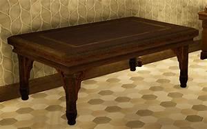 Black, Desert, Online, Calpheon, Handcrafted, Dining, Table