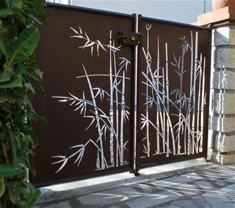 les 25 meilleures id 233 es concernant portail metal sur portail en bois portillon
