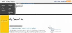 how to align to left for blogger simple template With blogger post template code