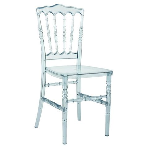 location de chaises chaise napoleon transparente