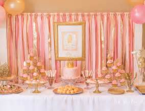 princess birthday quot kate s pink and gold princess quot catch my