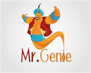 Cleaning Company Business Cards Mr Genie Designed By Byteandpixel Brandcrowd