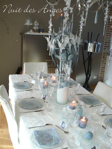 d 233 coration de table bleu nuit des anges