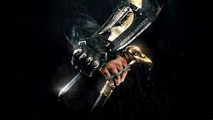 HD Background Assassins Creed Syndicate Knife Sword ...