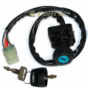 Ignition Key Switch Suzuki Lta400 Lta400f Lta400fc Eiger