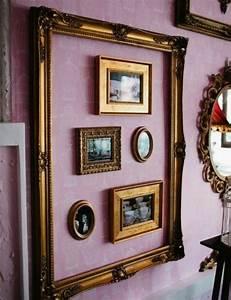 Cadre Pour Plusieurs Photos : 1001 id es originales de d co avec cadres vides ~ Teatrodelosmanantiales.com Idées de Décoration