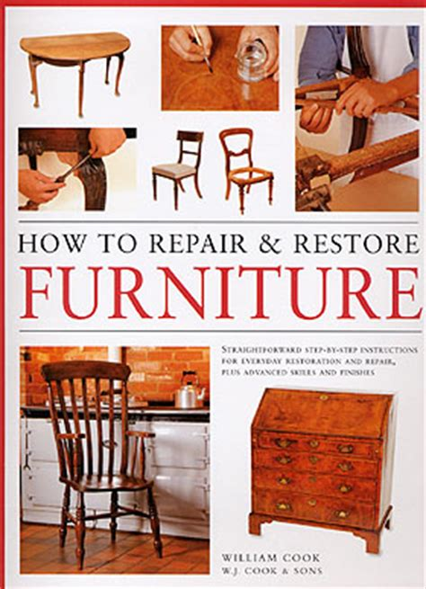 how to repair restore furniture