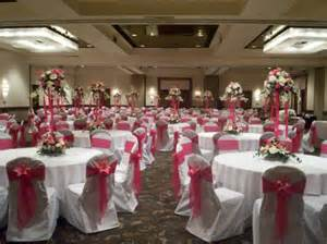 black banquet chair covers photo gallery party risers centerpieces in fuschia